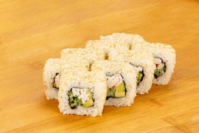 Калифорния в кунжуте - Доставка суши и роллов в Омске, Мистер-Крабс, 21 Амурская, 16