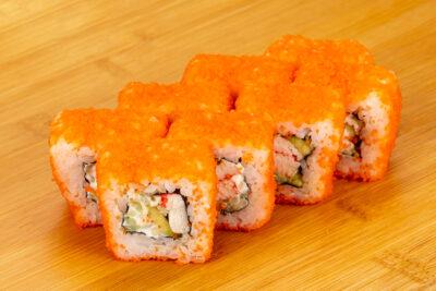 Калифорния с крабом - Доставка суши и роллов в Омске, Мистер-Крабс, 21 Амурская, 16