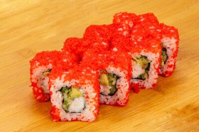 Калифорния с креветкой - Доставка суши и роллов в Омске, Мистер-Крабс, 21 Амурская, 16