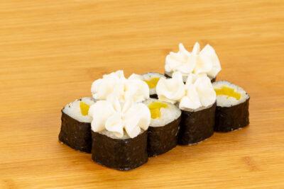 Мини с такуаном - Доставка суши и роллов в Омске, Мистер-Крабс, 21 Амурская, 16