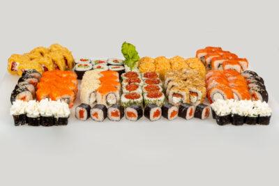 Сет Mr. Мега пати - Доставка суши и роллов в Омске, Мистер-Крабс, 21 Амурская, 16